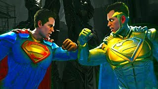 Injustice 2 Superman vs God Superman All intros, clash quotes and supermoves from Injustice 2  Injustice 2 Playlist https://www.youtube.com/playlist?list=PLIHdjqWw8amLejxTrprTd5om6niDsWg4LSUBSCRIBE for daily Injustice 2 content!https://www.youtube.com/user/MaximumGuarded2