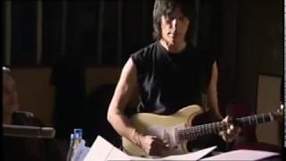 """Jeff Beck rehearsing """"Nadia"""" (Abbey Road Session 2003)"""