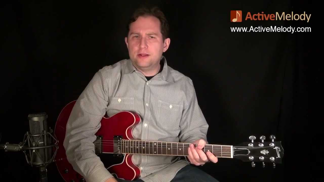Understanding How To Play Scales In A Blues Guitar Solo: EP016