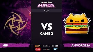 [RU] Ninjas in Pyjamas vs Anvorgesa, Game 2, StarLadder ImbaTV Dota 2 Minor S2 Playoffs