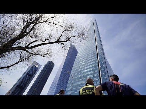 Falscher Alarm: Hochhaus mit Botschaften in Madrid ev ...