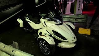 9. 2014 Can-am Spyder ST Limited Walkaround - 2013 EICMA Milano Motorcycle Exhibition