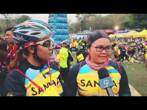 Cyber City พาไปปั่นในกิจกรรม Sponsor Bike Together 2016 (2/3) เสาร์ที่ 13 กุมภาพันธ์ 2559