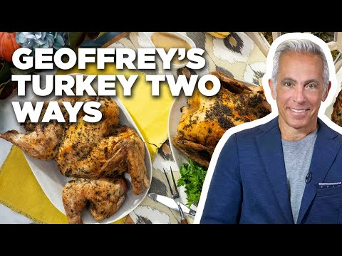 Geoffrey Zakarian's Thanksgiving Turkey Two Ways | The Kitchen | Food Network