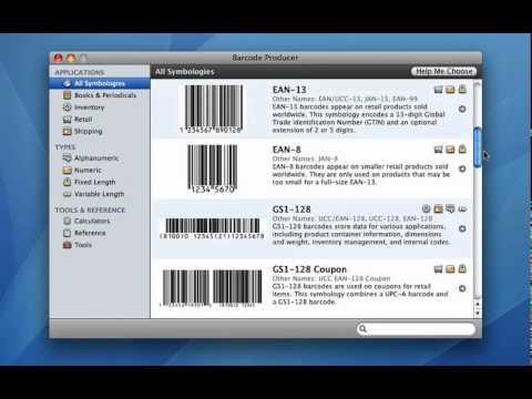 Barcode Producer Quick Start