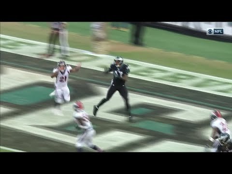 Video: Rodney McLeod's INT & Amazing Return Sets Up Alshon Jeffery's TD! | Broncos vs. Eagles | NFL Wk 9