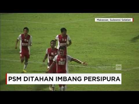 Skor 2-2, PSM Makassar Ditahan Imbang Persipura