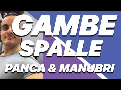 Allenamento con Panca e Manubri: Gambe e Spalle