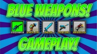 Pixel Gun 3D - Blue Weapon Gameplay!