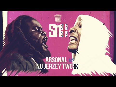 ARSONAL VS NU JERZEY TWORK SMACK RAP BATTLE | URLTV