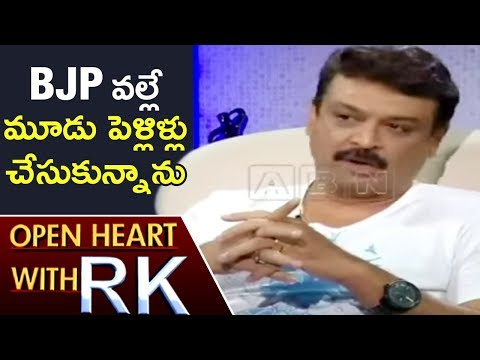 Senior Actor Naresh Over His Marriage Controversies | Open Heart With RK