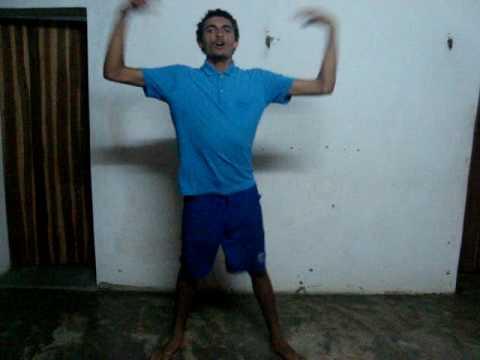 Edimar: da Baixinha em Potiretama dançando bem ao seu estilo