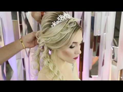 New hairstyle - Romantic hairstyle with braiding technique, Farrukh Shamuratov