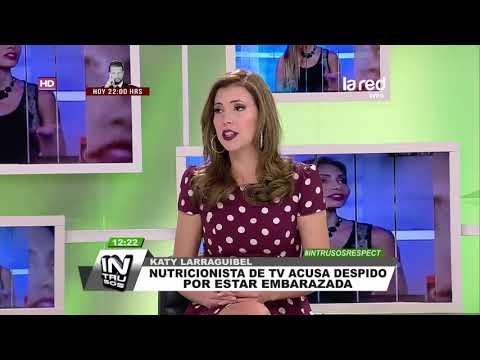 Nutricionista televisiva acusa que la despidieron por estar embarazada