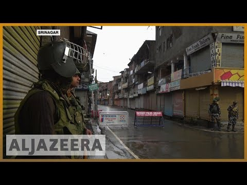 Indian-administered Kashmir remains under lockdown