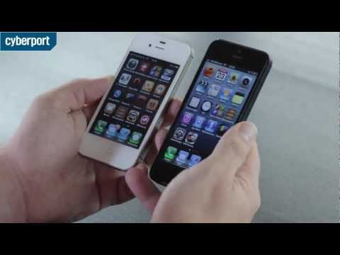Youtube Video Apple iPhone 5 16 GB weiss