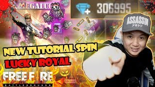 NEW TUTORIAL LUCKY ROYAL AUTO DAPET SEMUA SKIN FIRE & PET DIAMOND 300,000 - GARENA FREE FIRE