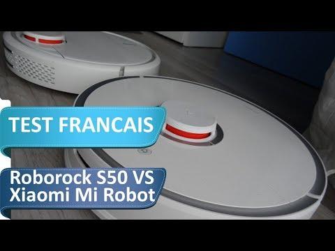 Xiaomi mi robot VS Roborock S50 en francais : Quel est le meilleur choix ?