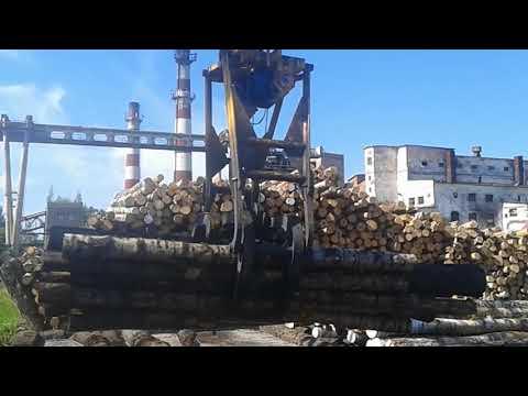 Видео работы лесного грейфера