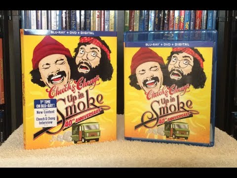Up in Smoke: 40th Anniversary BLU RAY REVIEW + Unboxing