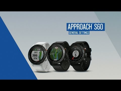 Garmin Approach S60: Basic Functions