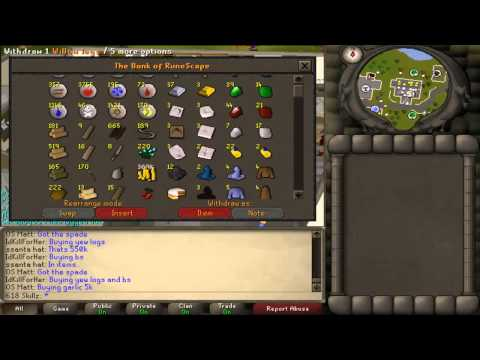 funny runescape bank video - Thanks for watching and good luck Ruenscaping. twitter account: https://twitter.com/V_H_Gaming Facebook page: https://www.facebook.com/VarrockHeraldGaming I ...