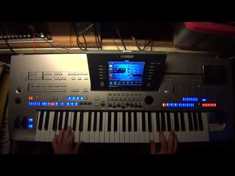 Fabienne Thibeault - Le Monde est stone STARMANIA Maurane TYROS PSR GENOS @ piano synth keyboard