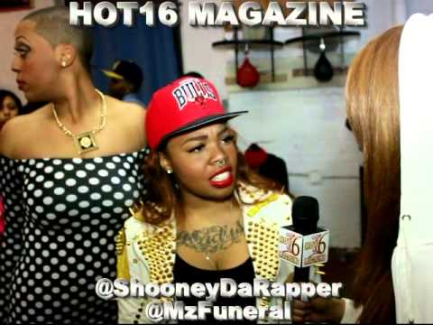 "QOTR ""Evolution"" 40 Barrs vs Phara Funeral w/ Shooney Da Rapper Hot16 Magazine Exclusive"