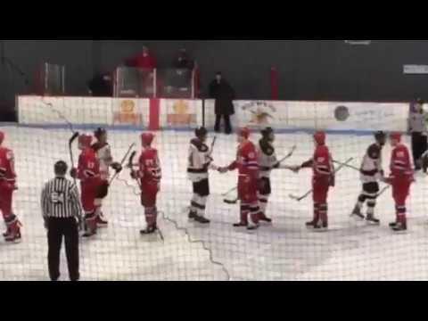 VIDEO: Handshake line after Rivermen eliminate Roanoke