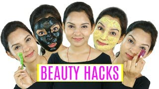 Watch More -  https://goo.gl/62tLVQTried & Tested Beauty Hacks to solve Acne, Pimples, Puffy Eyes, Sun Tan, Dull Skin, Hair fall, Hair Loss, Greasy Hair etc. They r really affordable & works effectively so do try it and don't forget to comment and share your results.Don't forget to TAG & SHARE it with your friends.PRODUCTS SHOWN--------------------------------1st Remedy:Fresh AloeVera2nd Remedy:ShampooFace CleanserHealthVit Activated Charcoal Powder for Face Maskhttp://amzn.to/2tlsXJe3rd Remedy:Tomato24 Mantra Organic Besan (Gram) Flour, 500ghttp://amzn.to/2upKTYw4th Remedy:Organix Mantra Lemon Cold Pressed Essential Oilhttp://amzn.to/2tlRdv2Pure & Sure Organic Coconut Oil, 250mlhttp://amzn.to/2ulj82t5th Remedy:Coffee powder Water ~ Love♥ Pretty Priya ♥NEW UPLOADS every Monday & Friday!! ▷ CONNECT with us!! ♥ YOUTUBE - https://www.youtube.com/PrettyPriyaTV♥ FACEBOOK - https://www.facebook.com/PrettyPriyaTV/♥ TWITTER - https://twitter.com/PrettyPriyaTV♥ INSTAGRAM - https://www.instagram.com/PrettyPriyaTV/♥ SNAPCHAT - @PrettyPriyaTV ♥ BUSINESS INQUIRY - PrettyPriyaTV@gmail.comAUDIO DISCLAIMER/CREDITS –The background music is either taken from royalty free site and/or from the below sources under proper usage licence specified below –DISCLAIMER: The information provided on this channel and its videos is for general purposes only and should NOT be considered as professional advice. dry skin step by step hyperpigmentation oily skin hair care dark skin