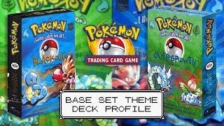 Pokémon Cards - Blackout & Overgrowth Base Set Theme Deck Profiles! by The Pokémon Evolutionaries