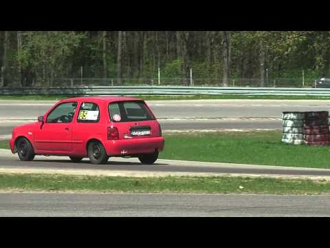Łukasz Witas Nissan Micra - SuperOES IV Runda - Tor Kielce 28-04-2012