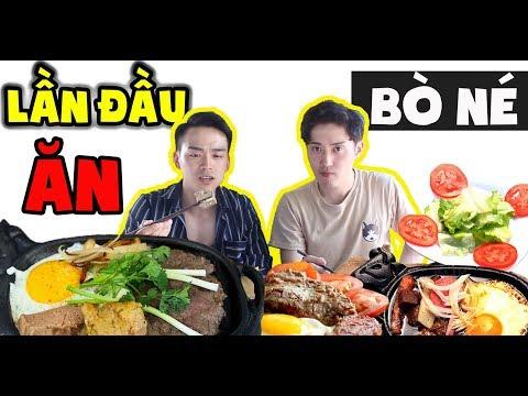 Phản ứng người Hàn lần đầu ăn BÒ NÉ Việt Nam và thắc mắc vì sao gọi là bò né ??? - Thời lượng: 10 phút.