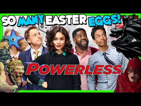 POWERLESS! The Show You Should Be Watching For AMAZING EASTER EGGS!