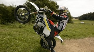 9. Husqvarna FE 450 2017 / Bike test review #6