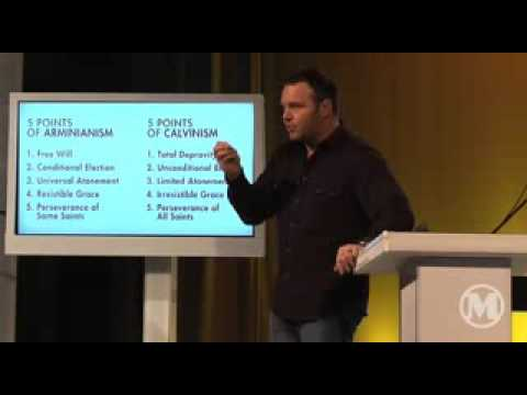 arminianism - Mark Driscoll outlines the differences between Calvinism and Arminianism.