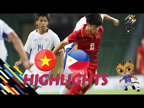 U22 VIỆT NAM vs U22 PHILIPPINES | BẢNG B SEA GAMES 29