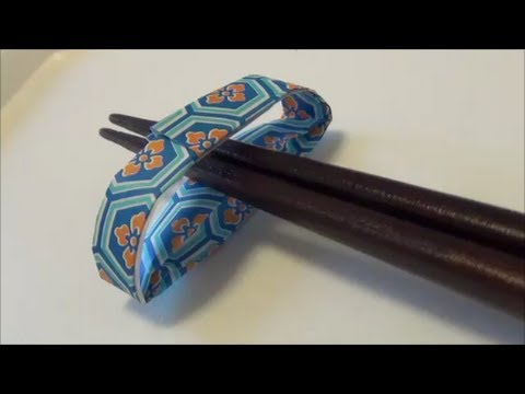 Kitchen Tutorial - 010 -- Bridge Chopstick Rest