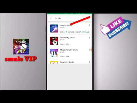 Smule Vip Hacked Apk 5.3.5 Free 10000% Working.. Just Click And Download. Link In Description...