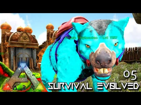 ARK: SURVIVAL EVOLVED - ELEMENTAL ALPHAS & PRIME DINO TAMING !!! ETERNAL PROMETHEUS TUNGUSKA E05