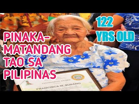Oldest Living Person In The Philippines Is Lola Francisca Susano