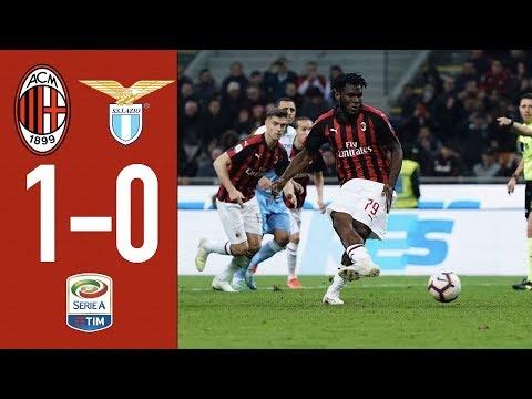 Highlights AC Milan 1-0 Lazio - Matchday 32 Serie A TIM 2018/19
