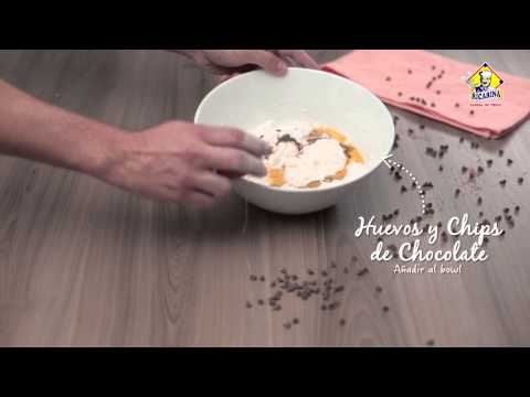 Video - Receta galletas chocochips