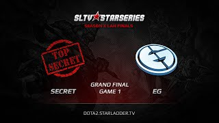 Secret vs Evil Genuises, game 1