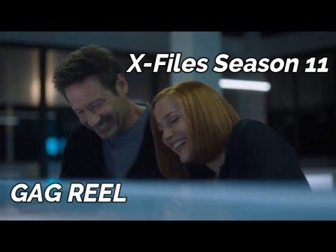 X-Files Season 11 GAG REEL/BLOOPERS