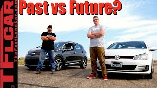 7. Past vs Future: 2017 Chevy Bolt vs VW GTI Drag Race