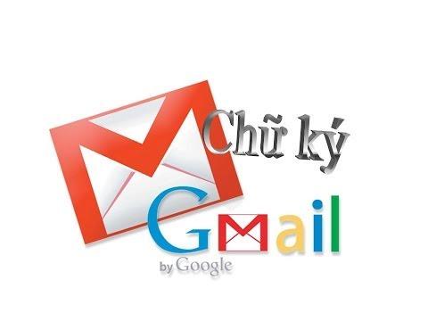 Thủ thuật đơn giản: Cách tạo chữ ký trong gmail - Thời lượng: 87 giây.