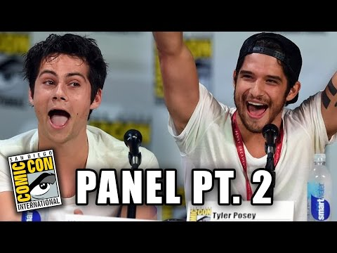 Tyler - More Celebrity News ▻▻ http://bit.ly/SubClevverNews Part 2 of the Teen Wolf season 4 panel at Comic-Con 2014 with Dylan O'Brien, Tyler Posey, Tyler Hoechlin, Holland Roden, Dylan Sprayberry,...