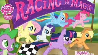 Video My Little Pony | Friendship is Magic  | My Little Pony Racing Is Magic Full Gaming HD MP3, 3GP, MP4, WEBM, AVI, FLV Juni 2019