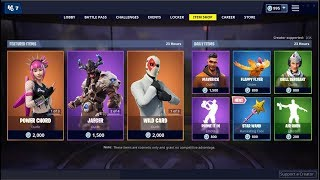 *NEW*Star Wand Pickaxe & Power Chord Skin (Back)! Fortnite Item Shop March 19, 2019